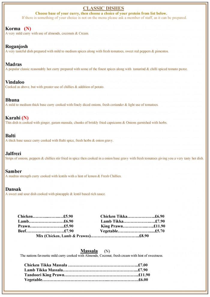 MENU PAGE 7
